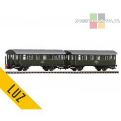 Piko zestaw wagonów osobowych PKP 2kl IIIep kpl 2szt - luz