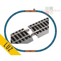 Piko 55365 A-Gleis zestaw torów A na podsypce skala H0 - luz