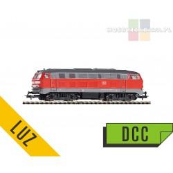 Piko BR 218 191-5 DB Cargo lokomotywa spalinowa DCC - luz