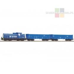 Piko 97937 zestaw startowy SM42-606, dwa wagony towarowe PKP Cargo