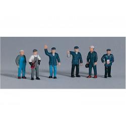 Piko 55730 figurki kolejarze 6 szt