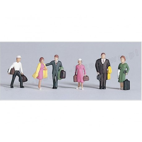 Piko 55731 figurki podróżni 6 szt